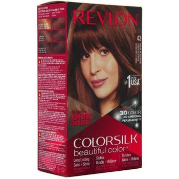 Beauté Femme Accessoires cheveux Revlon Coloration Colorsilk n°43 Châtain doré moyen Autres
