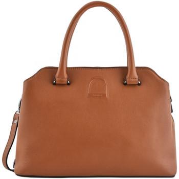 Sacs Femme Sacs porté main Etrier Sac docteur Balade cuir BALADE 104-00EBAL06 CAMEL