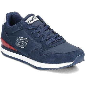 Chaussures Homme Baskets basses Skechers Sunlite Waltan Bleu marine