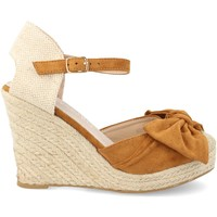 Chaussures Femme Espadrilles H&d HD-296 Camel