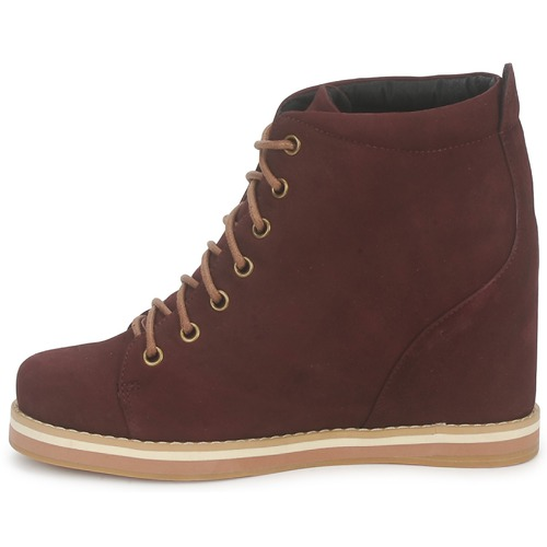 Desert Boots Chaussures Name No Femme Wish Low Bordeaux 2HIYWED9