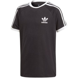 Vêtements T-shirts manches courtes adidas Originals 3STRIPES TEE Noir