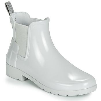 Chaussures Femme Bottes de pluie Hunter ORIGINAL KIDS Gris