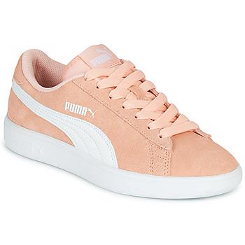 Chaussures Fille Baskets basses Puma SMASH V2JR PEAC CORAIL