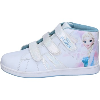 Chaussures enfant Disney sneakers blanc cuir synthétique BS139