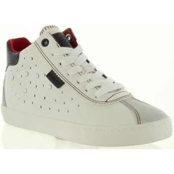 Chaussures Fille Baskets montantes Geox J92D5B 01322 J KILWI Blanco