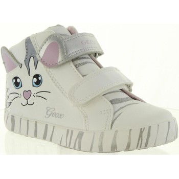 Chaussures Fille Boots Geox B92D5D 01054 B KILWI Blanco