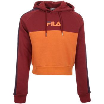 Vêtements Femme Sweats Fila Landers Hooded Sweat orange