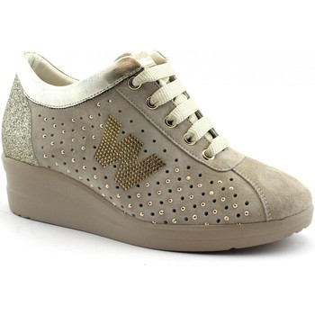 Chaussures Femme Baskets basses Melluso MEL-E19-R20134-CO Beige