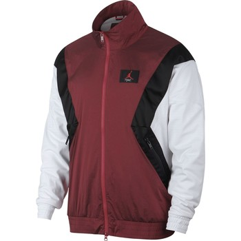 Vêtements Homme Vestes de survêtement Air Jordan - Veste Flight Warm Up - AO0555 rouge