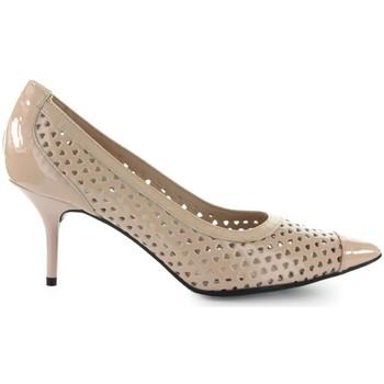 Chaussures Femme Escarpins Love Moschino Escarpins Rose Clair Coeurs Pink