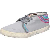 Chaussures Femme Baskets basses Date sneakers gris textile AP518 gris