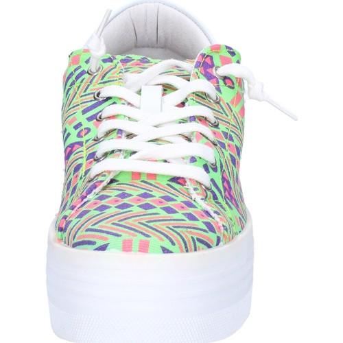 Chaussures Femme 2 Textile Ap709 Sneakers Baskets Multicolor Basses Stars 7byf6g