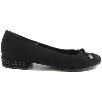 Chaussures Femme Ballerines / babies Guido Sgariglia ballerines noir daim ay112 noir