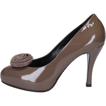 Chaussures Femme Escarpins Guido Sgariglia escarpins beige cuir verni ay118 beige