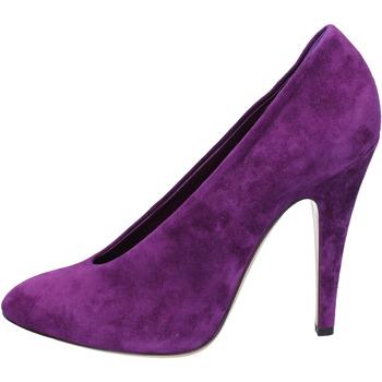 Chaussures Femme Escarpins Casadei escarpins pourpre daim az383 pourpre