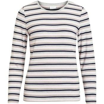 Vêtements Femme T-shirts manches longues Vila VIMULTICA Multicolore