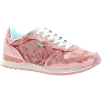 Chaussures Femme Baskets basses Pepe jeans Baskets  ref_45241 330 rose rose