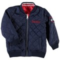 Name It Kids Blouson reversible Mento mini Bleu et Rouge