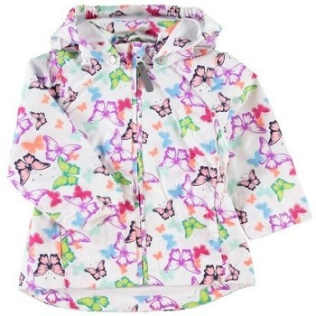 Vêtements Fille Blousons Name It Kids Veste  Mello Blanc Noir
