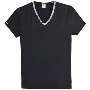 Vêtements Homme T-shirts manches courtes Japan Rags T-Shirt  Kauri noir Noir