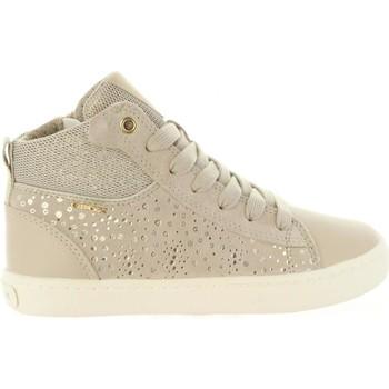 Chaussures Fille Baskets montantes Geox J92D5D 007GN J KILWI Beige
