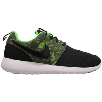 Chaussures Garçon Baskets basses Nike Roshe One Print Junior Noir Noir