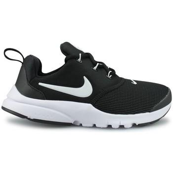 Chaussures Garçon Baskets basses Nike Presto Fly Enfant Noir Noir