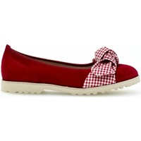 Chaussures Femme Ballerines / babies Gabor Ballerines bleu pacifique Rouge