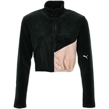 Vêtements Femme Vestes de survêtement Puma Rive Gauche FZ noir