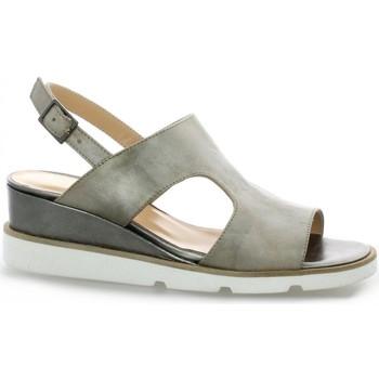 Chaussures Femme Sandales et Nu-pieds Benoite C Nu pieds cuir laminé Bronze