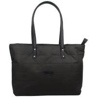 Sacs Femme Cabas / Sacs shopping Patrick Blanc Sac cabas trapèze damier noir 101039 Noir