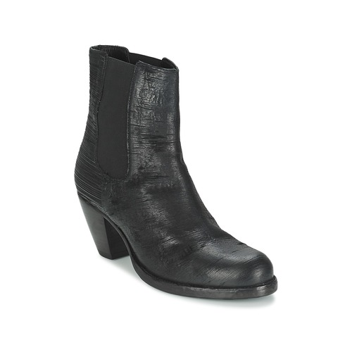 Bottines / Boots Fred de la Bretoniere ALMERE Noir 350x350