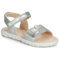 Chaussures Fille Sandales et Nu-pieds Geox HAHITI SILVER