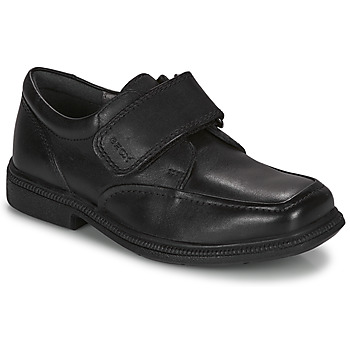 Chaussures Fille Derbies Geox FEDERICO A Black