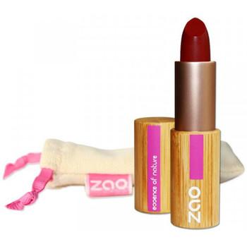 Beauté Femme Rouges à lèvres Zao Makeup Rouge à lèvres Mat Bambou 465 Rouge Sombre