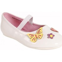 Chaussures Fille Ballerines / babies Flower Girl 220401-B2040 Blanco