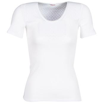 Sous-vêtements Femme Maillots de corps Damart FANCY KNIT GRADE 4 Blanc