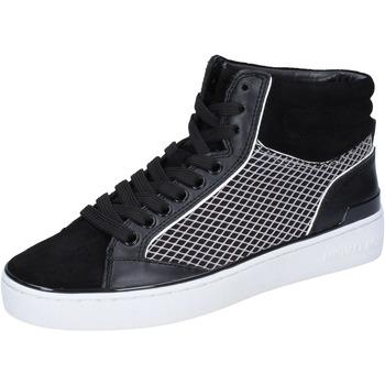 Chaussures Femme Baskets montantes MICHAEL Michael Kors sneakers cuir noir