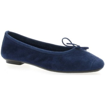 Chaussures Femme Ballerines / babies Reqin's Ballerines cuir velours  ocean Ocean