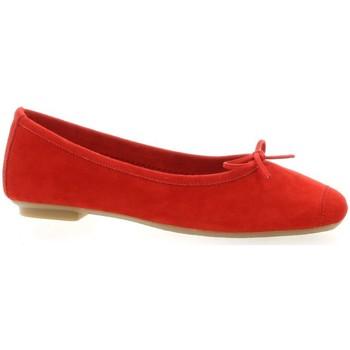 Chaussures Femme Ballerines / babies Reqin's Ballerines cuir velours rouge