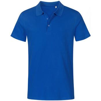 Vêtements Homme Polos manches courtes Promodoro Polo Jersey grandes tailles Hommes bleu roi