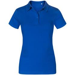 Vêtements Femme Polos manches courtes Promodoro Polo Jersey grandes tailles Femmes bleu roi