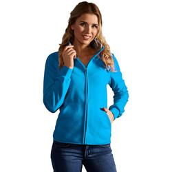 Vêtements Femme Polaires Promodoro Veste polaire doublée Femmes turquoise-gris