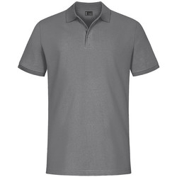 Vêtements Homme Polos manches courtes Promodoro EXCD Polo grandes tailles Hommes gris acier