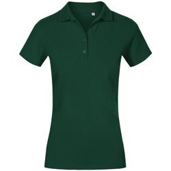 Vêtements Femme Polos manches courtes Promodoro Polo de travail grandes tailles Femmes vert forêt