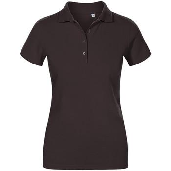 Vêtements Femme Polos manches courtes Promodoro Polo de travail grandes tailles Femmes graphite