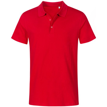Vêtements Homme Polos manches courtes Promodoro Polo Jersey grandes tailles Hommes rouge feu