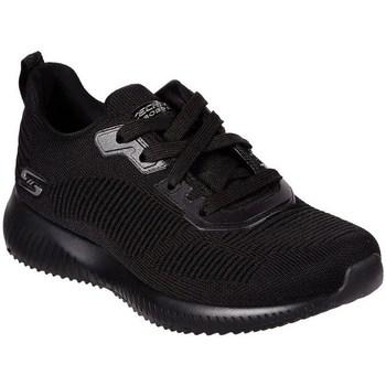 info for 29165 c7251 Chaussures Femme Baskets basses Skechers Bobs Squad Tough Noir