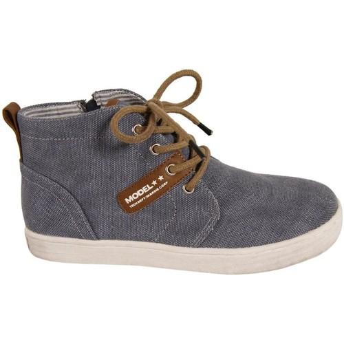 Chaussures Garçon Baskets montantes New Teen 239243-B7079 Azul